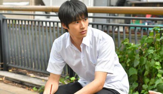 中学聖日記のイケメン岡田健史が番組で着用してる靴とリュックのメーカーが判明した