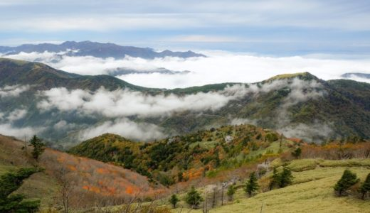 ハイキング初心者シニアにお勧めはどこ?四国の紅葉の穴場2選は剣山と瓶ヶ森