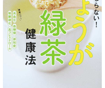 しょうが緑茶の効果と作り方は?サタプラで放送・インフルエンザ予防に効果あり!