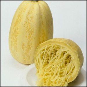 ソーメンカボチャの収穫時期と保存法は?栄養価と茹で方や食べ方