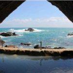 南紀勝浦・巨大洞窟温泉ホテル浦島からの太平洋の絶景